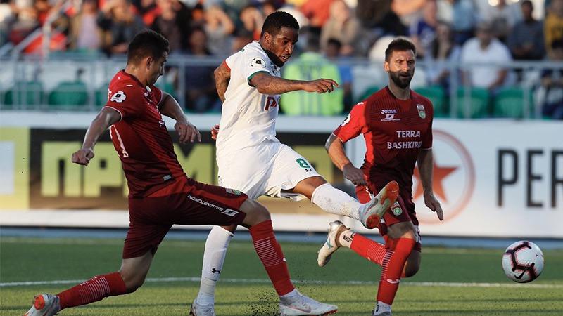 Lokomotiv Moscú con Jefferson Farfán empató sin goles ante FC Ufa.