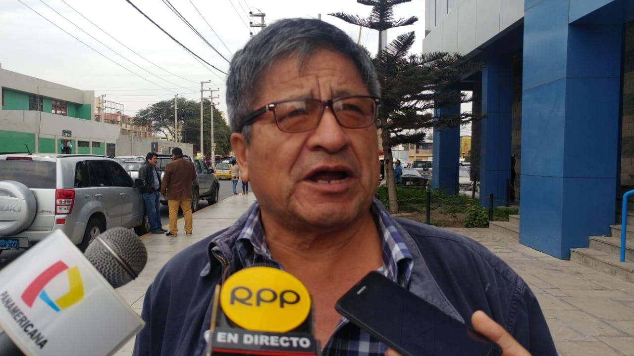 Leoncio Egusquiza, pidió que se realice una exhaustiva investigación.