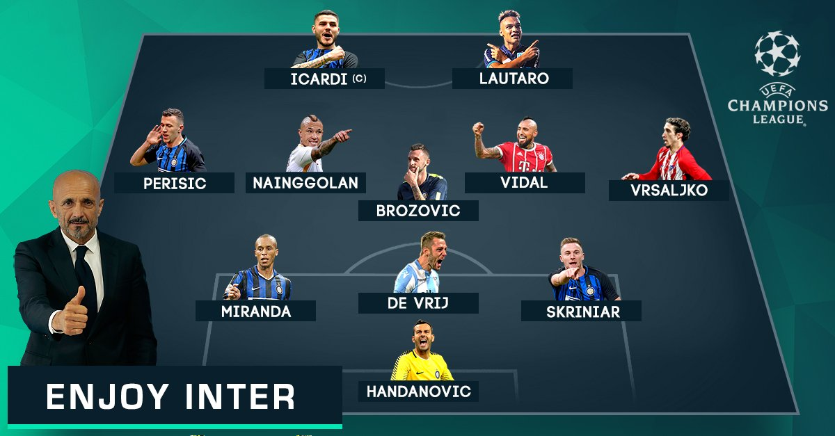 Los hinchas del Inter de Milán quieren este equipo para su reaparición en la Champions League.