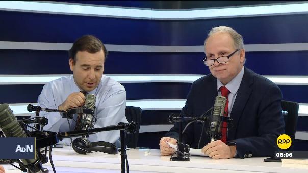 Aldo Mariátegui se despide de Ampliación de Noticias.