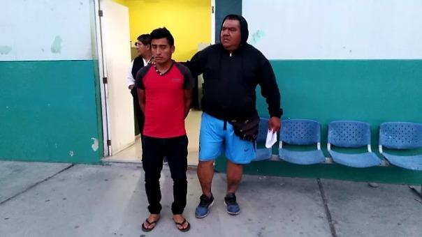 Agentes de la comisaría César Llatas lo detuvieron.