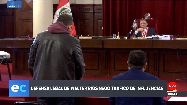 Walter Ríos cumplirá 18 meses de prisión preventiva.