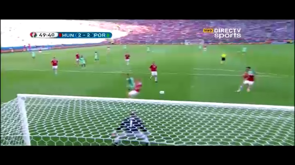 94f2917b45ed7 Video  Cristiano Ronaldo anotó golazo de taco en la Eurocopa 2016 ...