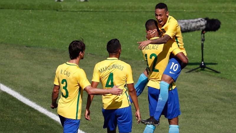 79cca1c213a9a Río 2016  Brasil goleó a Honduras y luchará por el oro olímpico ...