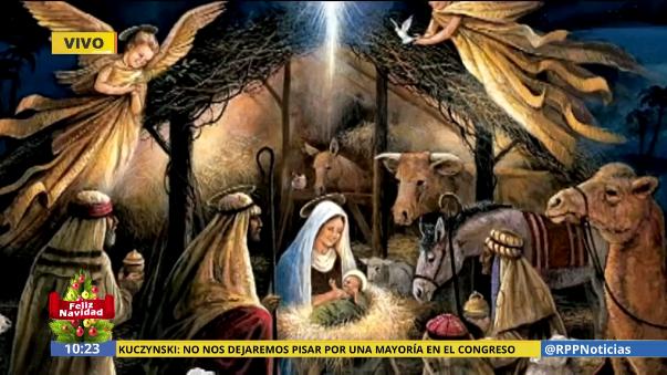 Fotos De El Pesebre De Jesus.Rpp Noticias