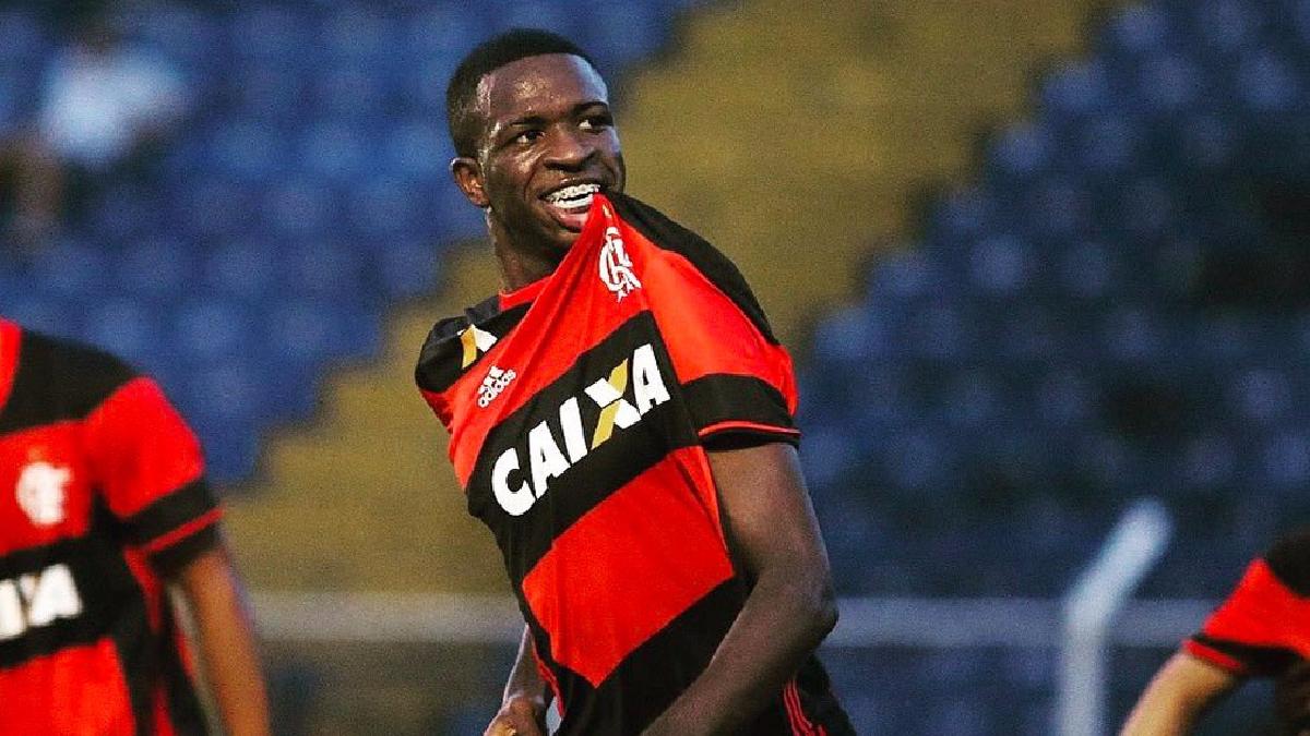 Vinicius Junior nació el 12 julio del año 2000. Tiene apenas 16 años. b21940762532b