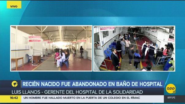 Bano Del Bebe En El Hospital.Un Recien Nacido Fue Abandonado En Un Bano Del Hospital De La Solidaridad