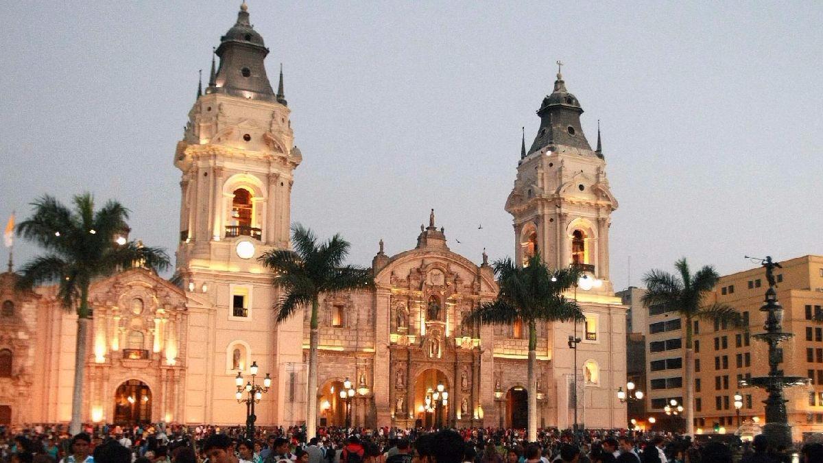 Resultado de imagen de catedral de Lima