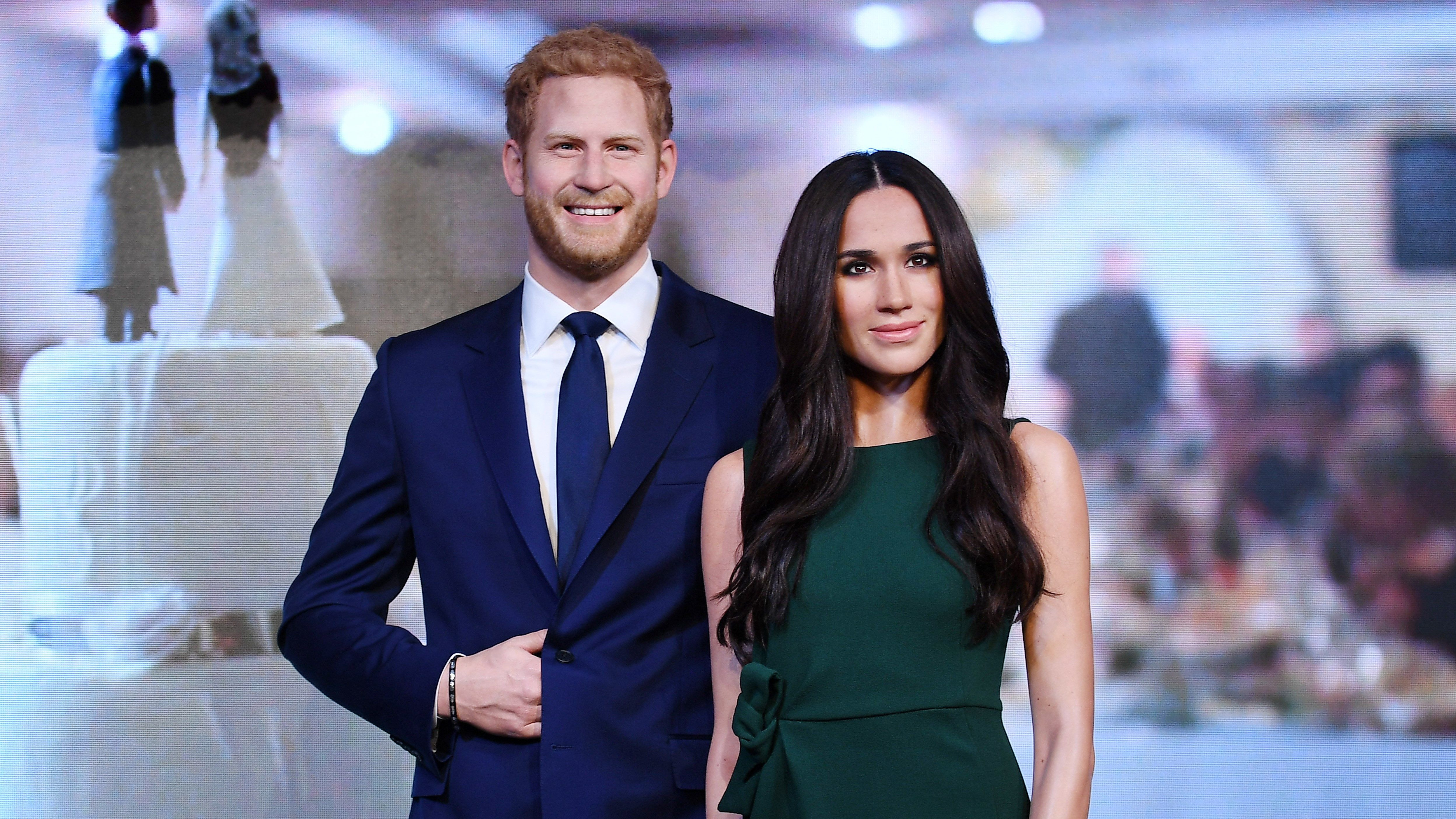 Resultado de imagen para Meghan y el príncipe Harry cera