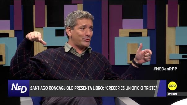 Santiago Roncagliolo habló de su libro