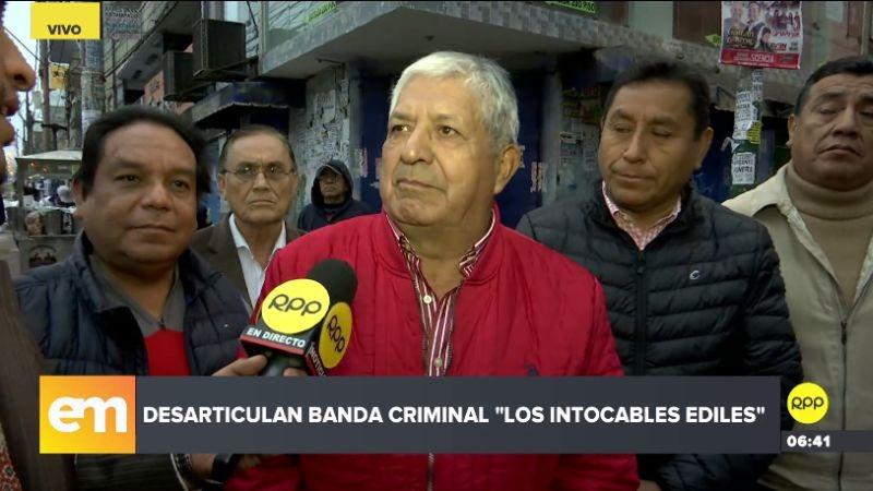 Los empresarios de Gamarra denunciaron una serie de irregularidades en el municipio de La Victoria.