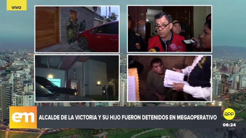 Además, la Policía investiga el nexo de 'Los Intocables Ediles' con tres asesinatos y un atentado en La Victoria.