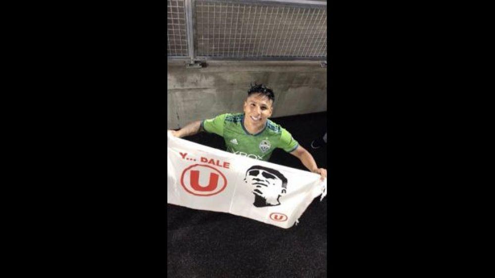 Juan Reynoso hizo debutar a Raúl Ruidíaz en Universitario de Deportes.