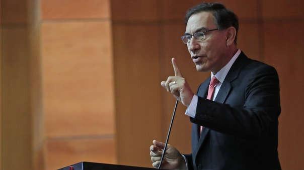El presidente Vizcarra instó a la población a elegir mejor a sus autoridades.