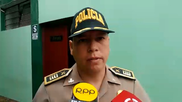 Mayor Rogger Artieda, jefe de la Deprove de Chiclayo, indicó que 15 agentes participaron en operación.