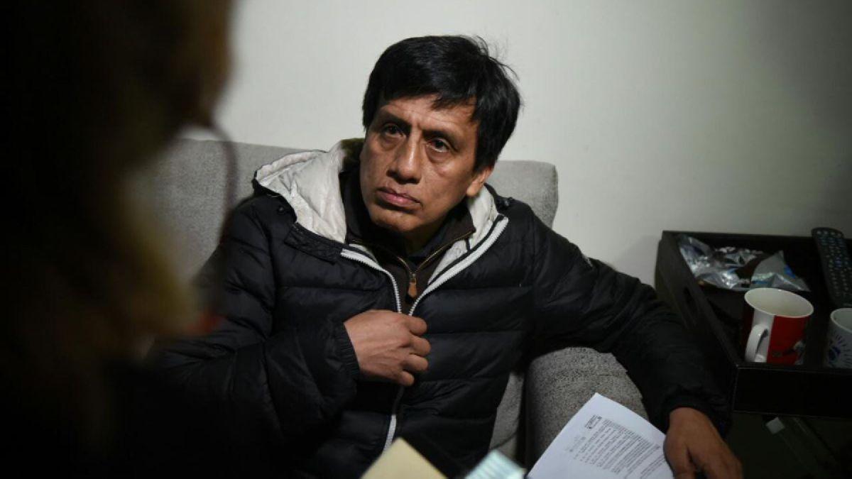 """El abogado de Antonio Camayo cuestionó que su patrocinado sea presentado en los medios como un """"maleante""""."""