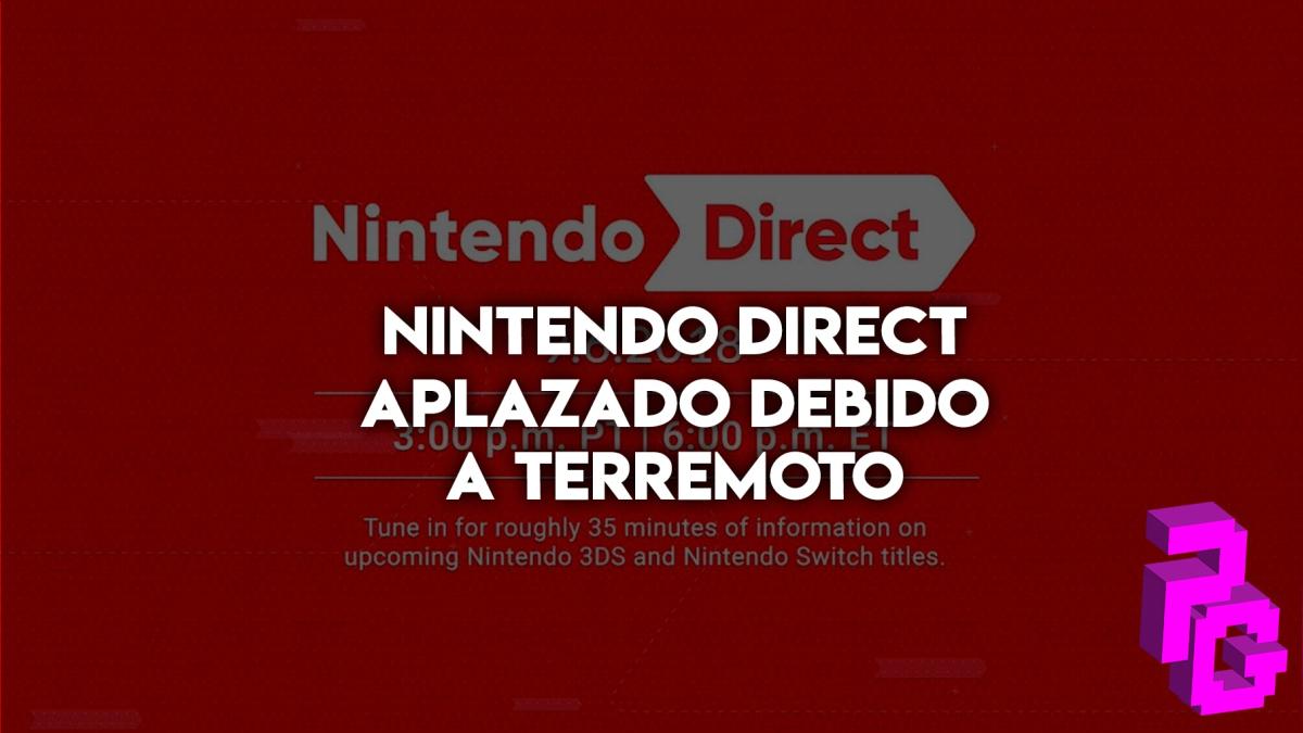 Nintendo decide que no es el momento adecuado para un Direct.