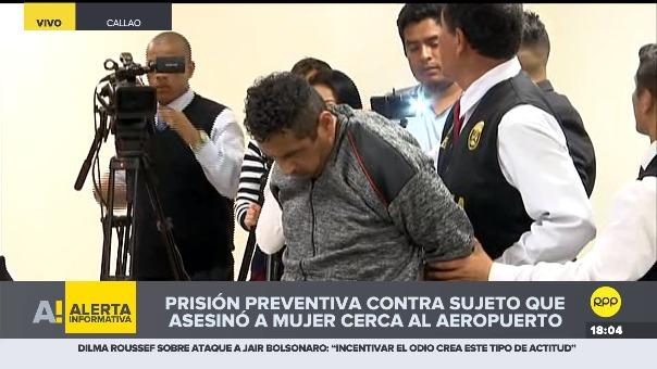 Víctor Soto Mija previamente confesó que degolló a su expareja en el Callao.