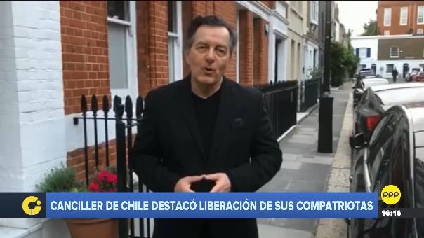 Canciller chileno Roberto Ampuero dijo que con Perú tiene las mejores relaciones y destacó sus procedimientos por la normativa legal.