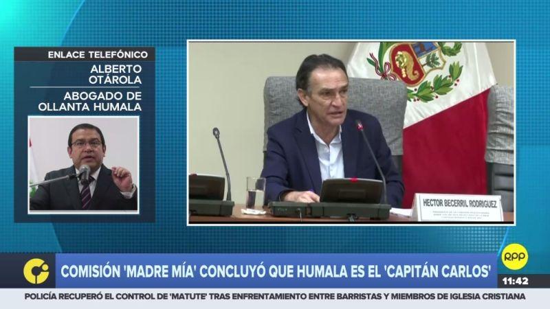 Alberto Otárola habló para RPP Noticias.