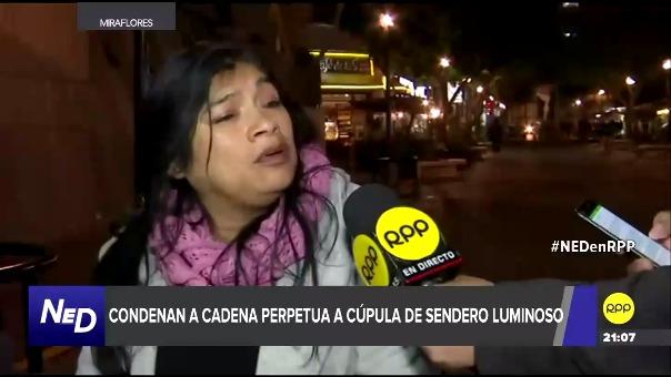 Han pasado 26 años desde aquel nefasto 16 de julio de 1992 y Miriam Milagritos Sánchez Salcedo se pronuncia luego que se dictara cadena perpetua contra los responsables del lamentable hecho.