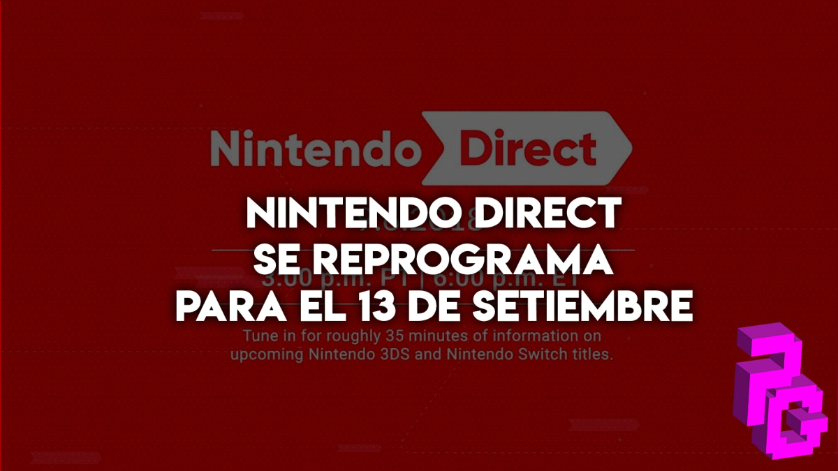 Tendremos 35 minutos de anuncios de juegos para 3DS y Nintendo Switch.