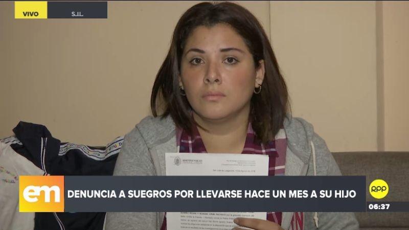 Carolina Salas hizo su denuncia a través del Rotafono de RPP Noticias.