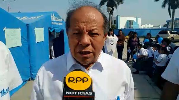 Cirujano dental de la Red Asistencial de EsSalud, José Rodríguez Chonta.