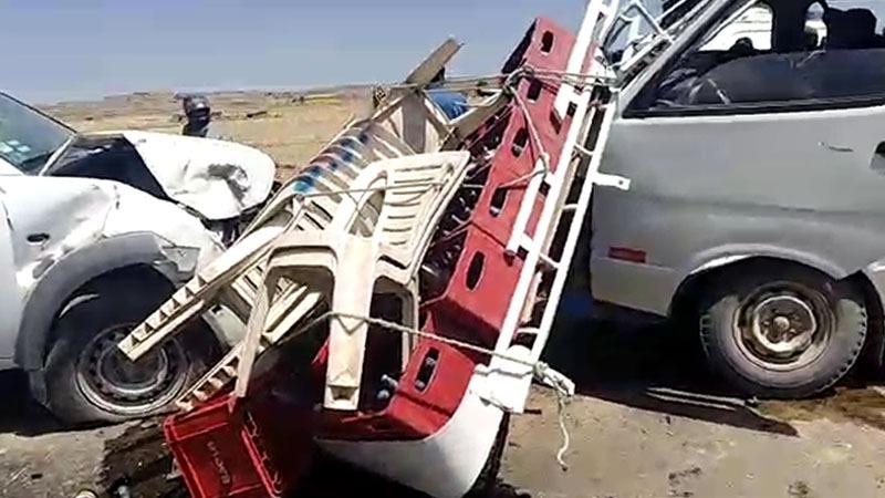 La Policía llegó hasta el lugar para determinar las causas del accidente.