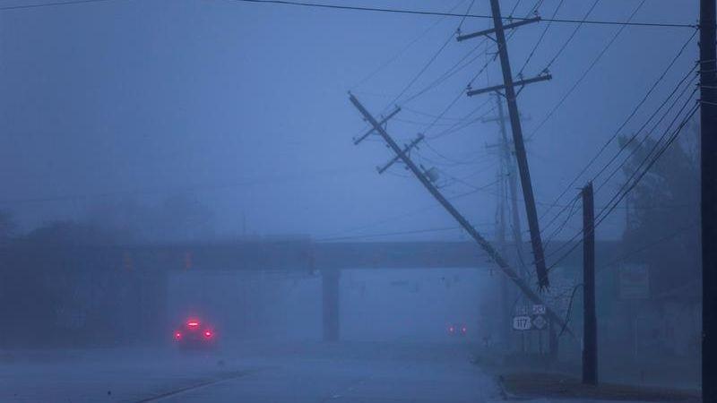 Se han registrado las primeras muertes a causa del huracán Florence.