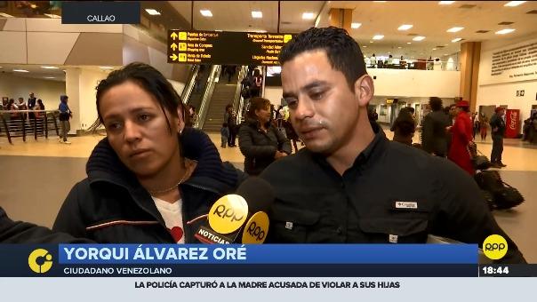La pareja de venezolanos acudió a la Embajada de Venezuela en Perú, pero les dijeron que tenían que reunir a 100 personas para que salga un avión hacia el país.